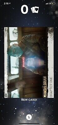 TOPPS SWCT The Mandalorian Chapter One - Card #1 & #3 **Grey**