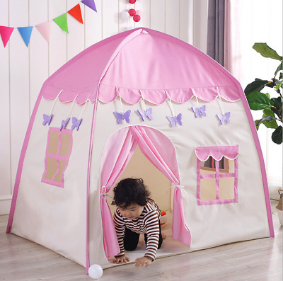 Kids Children Pop Up Tent Princess Castle Game Playhouse Boy Girl Fairy Toy Gift
