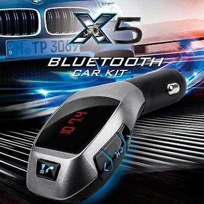 Hand Free Bluetooth Auto KFZ Adapter Radio Transmitter USB MP3 Player Karte Slot