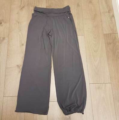 Adidas Woman Trousers Bottoms Joggers Tracksuit Gym in Grey