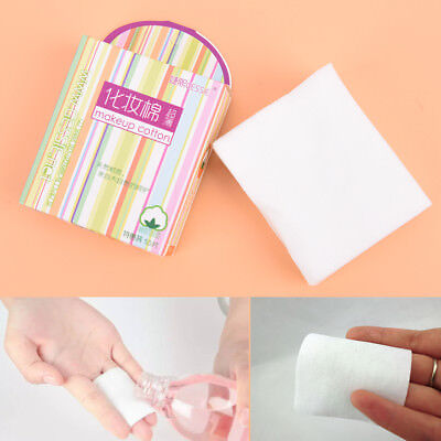 50Pcs Cosmetic Cotton Pad Lint Free Facial Eye Cleansing Makeup Remover Tool SE