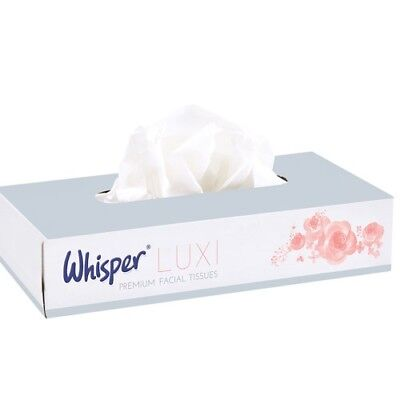 Professional Premium Facial Tissues 2 Ply White 36 Boxes of 100 21 cm x 18 cm