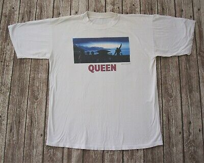 QUEEN : Official Made In Heaven 1995 Album Promo T-Shirt Freddie Mercury