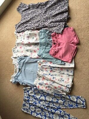 Bundle Of Girls Summer Clothes - Age 3