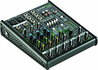 Mackie ProFX4v2 4 Channel Sound Reinforcement Mixer With Built-In FX Pro Audio