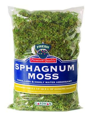 Gardman Large Pack Fresh Sphagnum Moss Garden/Greenhouse Basket Liner