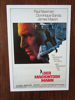 Filmplakatkarte / moviepostercard  Der Mackintosh Mann  Paul Newman