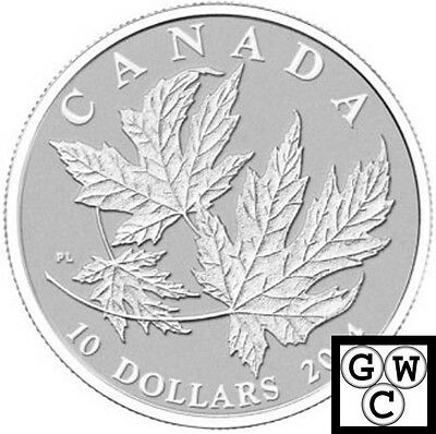 2014 'Maple Leaf' 1/2oz Specimen $10 Silver Coin .9999 Fine (13879) (NT)