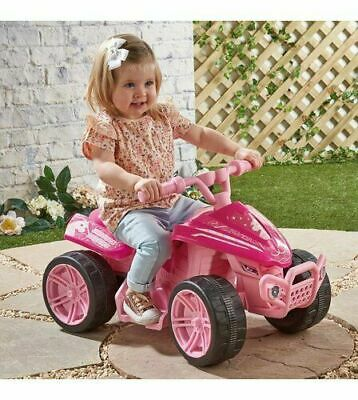 Unicorn Quad Bike 6V Electric motorbike Kids Pink Ride On   for age 3+