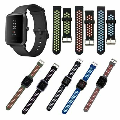 Amazfit Huami20MM Silicone Sport Smart Watch Band For Xiaomi Huami Amazfit Bip