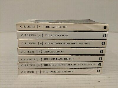 Chronicles of Narnia: The Chronicles of Narnia Set by C. S. Lewis FREE SHIPPING!