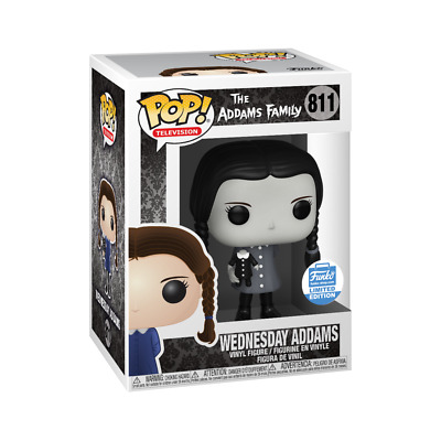 Pop! Television: the Addams Family - Wednesday Adams (Black & White) #811