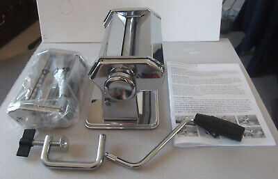 Good Quality, Solid Metal Pasta Maker / Roller - New, Boxed - Adjustable,4 Types