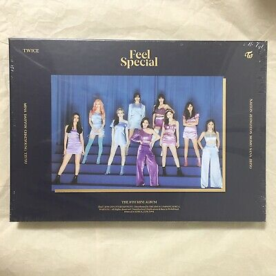 K-POP TWICE The 8th Mini Album Feel Special Ver.B CD Package [NO Photocard]