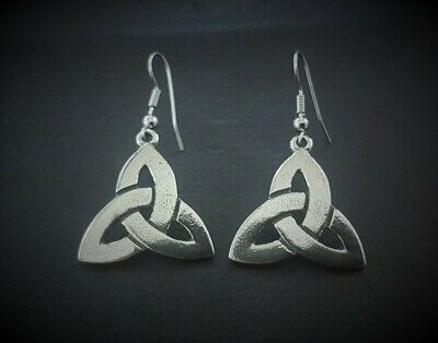 Celtic Triquetra Knot Earrings
