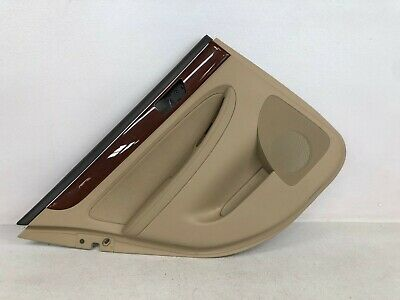 09-14 Hyundai Genesis Sedan Door Panel Rear Left Lh Driver Side Oem Lot2125