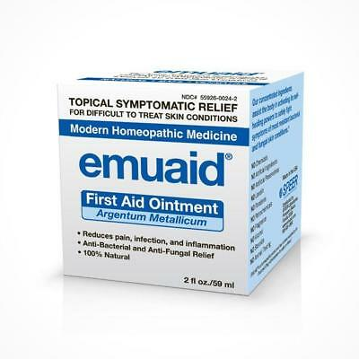 Emuaid First Aid Ointment- 2 oz.- Natural, Medical Grade, Bio-Active Ingredients