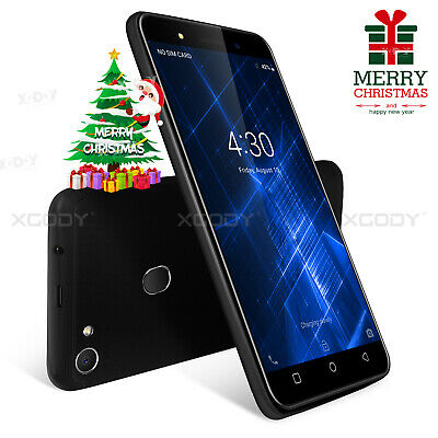 """2 SIM XGODY 5.0"""" Android 8.1 Cell Phone Unlocked 3G Cheap Smartphone Quad Core"""