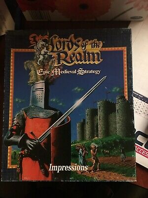 Amiga Big Boxed Game Lords of the Realm