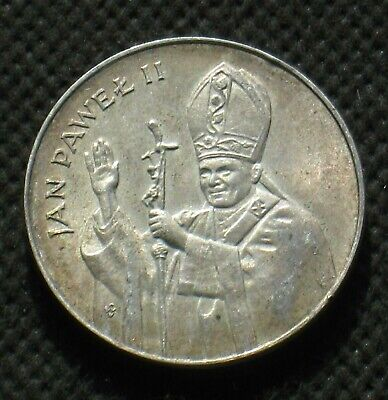 COMMEMORATIVE COIN OF POLAND MINT 25 YEARS OF PONTIFICATE POPE JOHN PAUL II