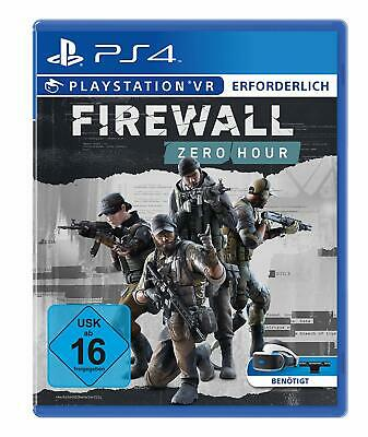 PS4 Game Firewall Zero Hour VR PLAYSTATION VR Will Required New