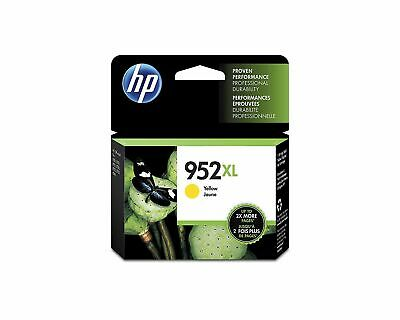HP GENUINE 952XL Yellow Ink for Officejet 8710 8210 8720 8730 SEALED Box exp7/21