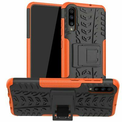 Fits Samsung Galaxy A70/A70s Shockproof Silicone Case Rugged Hybrid Armor Cover