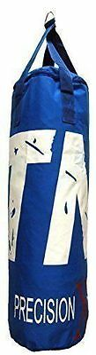 BLUE 3ft MMA Boxing Punch Bag Home Training Kickboxing Bag - Sold Unfilled