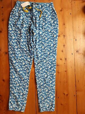 Boden Girls Trousers Flowers 12 Years New with Tags