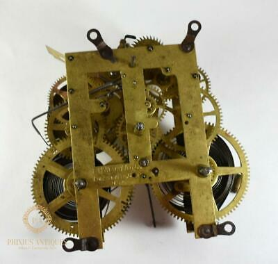 Large Antique E.n Welch Co Replacement Clock Movement