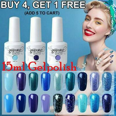 GEL LAB Gel Nail Polish Varnish Lacquer UV Base Top Coat Manicure Gelpolish 15ml