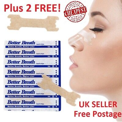 CHEAPEST 1000* Nasal Nose Sleep strips better breathe Stop Snoring Breath Easy