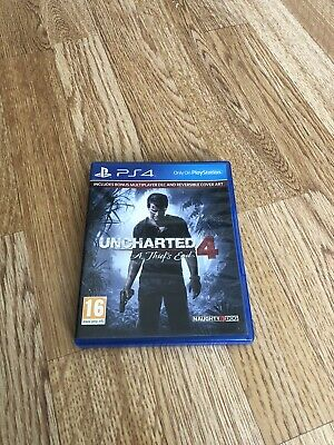 Uncharted 4: A Thief's End (Sony PlayStation 4, 2016) PS4 Game