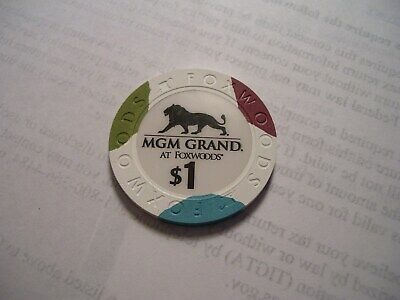 FOXWOODS MGM GRAND at FOXWOODS HOTEL CASINO$1.00 LONG GONE