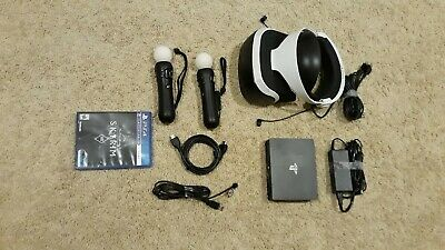 Playstation VR (CUH-ZVR2) bundle for PS4, VR headset & Processor, No Camera
