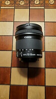 Canon EF-S 10-18mm F/4.5-5.6 IS STM Lens (9519B002)