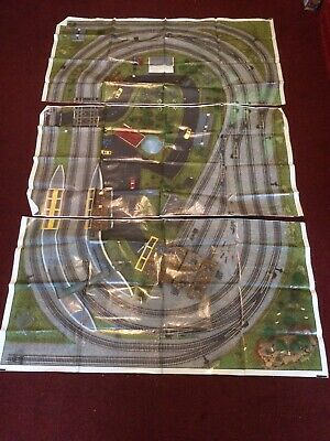 00 GAUGE 3 PIECE TRACK MAT FOR MODEL RAILWAY (Pre-owned but not used)