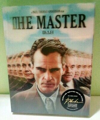 Steelbook The Master Lenti Slip Plain Archive #006-S02 0406/1800 No Audio Ita