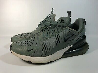 NIKE AIR MAX 270 Clay Green Deep Jungle Black White Running