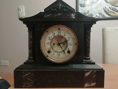 Antique ANSONIA CLOCK CO. New York USA Antique 1884 Mantel Clock