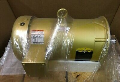 Baldor Goulds 7.5 Hp, 3450 Rpm 3 Phase Tefc C-Face Electric Supere Motor 184Tc