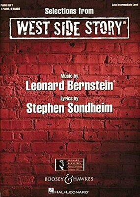 NEW - Selections from West Side Story: One Piano, Four Hands