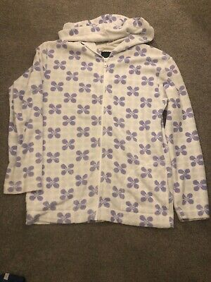 Mini boden girls towelling zip top age 11-12 Yrs.