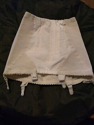Vintage Open Bottomed Girdle Avio by Symington 28 Inch Waist With Zip Fastening