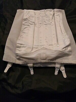 Excelsior Vintage Girdle 27/28 Inch Waist open bottomed with zip fastening boned