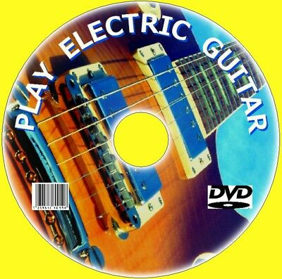 Learn How To Jugar Eléctrico Guitarra Easy a Follow Beginners Clases Vídeo DVD