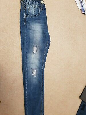 Denim Co BLUE 11-12 Years SLIM fit Boys Jeans New EXCELLENT