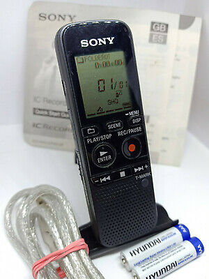 Sony Icd-px312 Digital Voice Recorder 2gb Micro SD Slot for sale online