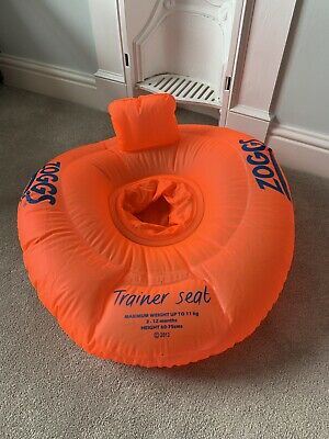 zoggs trainer seat/swimming seat 3-12 months (11kg) - excellent condition
