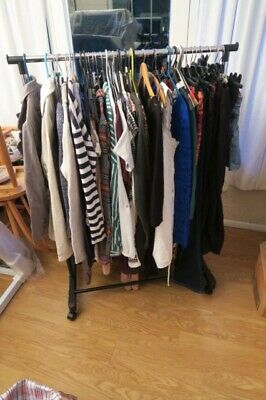 Bundle 48x new look, topshop, h&m, next, bhs tops trousers tshirts dresses 8/10